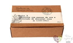 Claudio Corallo chocolate 70% with raisins muscat distillate 100 g