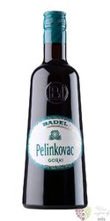 "Pelinkovac "" Gorki ""  Croatian herbal  liqueur Badel 1862 35% vol.  0.70 l"