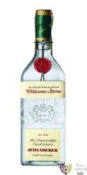 Williams Birne German pear brandy by Alfred Schladerer 42% vol.   0.70 l