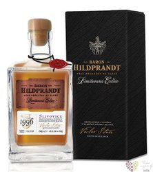 "Baron Hildprandt "" Slivovice"" 1996 ltd edition Bohemian plum brandy 50% vol.  0.70 l"
