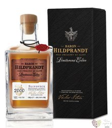 "Baron Hildprandt "" Slivovice "" 2000 ltd edition Bohemian plum brandy 50% vol.  0.70 l"