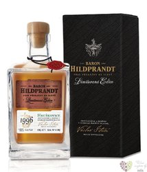 "Baron Hildprandt "" Hruškovice "" 1996 ltd edition Bohemian pear brandy 50% vol.0.70 l"