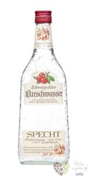 "Specht "" Kirshwasser "" German cherry brandy 40% vol.  0.70 l"