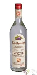 "Specht "" Slivovitz "" German plum brandy 40% vol.  0.70 l"