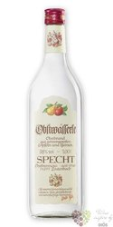 "Specht "" Zwetschkenwasser "" German fruits brandy 40% vol.  1.00 l"