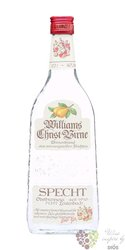 "Specht "" Williams Christ birne "" German fruits brandy 40% vol.  0.70 l"