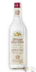 "Specht "" Williams Christ birne "" German fruits brandy 40% vol.  1.00 l"