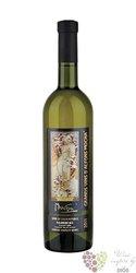 """Rulandské bílé """" Alfons Mucha """" 2011 pozdní sběr Zámecké vinařství Bzenec    0.75 l"""
