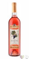 """Frankovka rose """" Herbarium moravicum"""" 2013 pozdní sběr Zámecké vinařství Bzenec0.75 l"""
