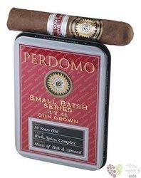 "Perdomo Reserve Small batch Half "" Corona Connecticut TIN (4ks) "" Nicaraguan cigars"
