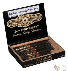 """Perdomo 20th Anniversary """" Maduro """" 6 PK Sampler Nicaraguan cigars"""
