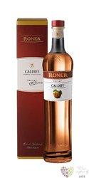 "Roner privat "" Caldiff – Acquavite di Mele "" Italian Sudtirol apple brandy 43% vol.  0.50 l"