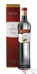 """Roner raritas """" Mele cotogne """" Italian Sudtirol quince Schnaps 43% vol.  0.50 l"""