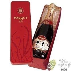 Maxim´s de Paris blanc Brut in gift metal box Champagne AOC     0.75 l