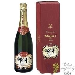 Maxim´s de Paris rosé Brut in gift box Champagne AOC    0.75 l