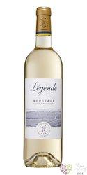 """Bordeaux blanc """" Légende """" Aoc 2015 domaines Barons de Rothschild Lafite      0.75 l"""