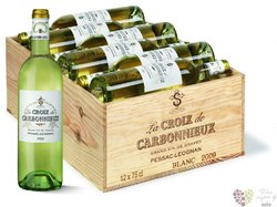 la Croix de Carbonnieux blanc 2009 second wine Graves Grand cru Classé    12x0.75 l
