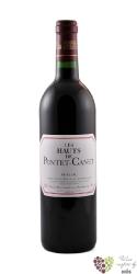 les Hauts de Pontet 2008 Pauillac second wine of Chateau Pontet Canet     0.75 l