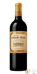 Chateau Lalande Borie 2014 Saint Julien Aoc  0.75 l
