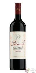 Pastourelle de Clerc Milon 2010 Pauillac Aoc  0.75 l