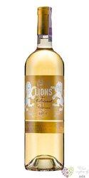 Les Lions Suduiraut 2009 Sauternes 2end wine of Chateau Suduiraut     0.75 l