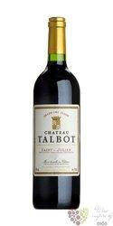 Chateau Talbot 1986 Saint Julien 4ér Grand cru classé en 1855    0.75 l