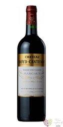 Chateau Boyd Cantenac 2015 Margaux 3éme Grand Cru Classé en 1855  0.75 l