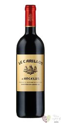 Carillon de l´Angelus 2000 Saint Emilion 2nd wine of Chateau Angelus  0.75 l