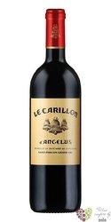 Carillon de l´Angelus 2009 Saint Emilion 2nd wine of Chateau Angelus  0.75 l