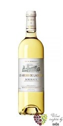 Arums de Lagrange blanc 2007 Bordeaux Saint Julien Aoc    0.75 l