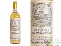 Chateau de Myrat 2010 2éme cru classé Sauternes Barsac    0.375 l