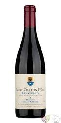 "Aloxe Corton rouge 1er cru "" Vercots "" 2010 domaine Follin Arbelet  0.75 l"