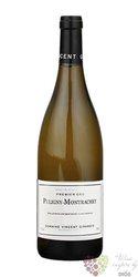 """Puligny Montrachet blanc 1er cru """" Folatieres """" 2013 domaine Vincent Girardin  0.75 l"""