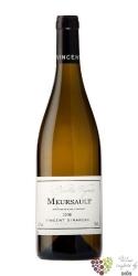 """Meursault blanc """" Vieilles vignes """" Aoc 2014 domaine Vincent Girardin     0.75 l"""