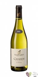 """Chablis 1er cru """" Montmains vieilles vignes """" 2013 domaine Pascal Bouchard  0.75 l"""