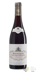 """Bourgogne Pinot noir """" Vieilles vignes """" Aoc 2016 domaine Albert Bichot  0.75 l"""