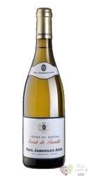 """Cotes du Rhone blanc """" Secret de Famille """" Aoc 2015 Paul Jaboulet Ainé  0.75 l"""