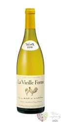 """Cotes du Luberon blanc """" la vieille Ferme """" Aoc 2016 domaine Perrin & fils   0.75 l"""