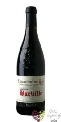 """Chateauneuf du Pape rouge """" Domaine Barville """" Aoc 2009 maison Brotte  0.75 l"""