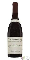 """Chateauneuf du Pape rouge """" Marie Beurrier """" Aoc 2008 domaine Henri Bonneau    0.75 l"""
