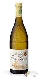 Chateauneuf du Pape blanc Aoc 2017 domaine Roger Perrin  0.75 l