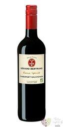 """Cabernet Sauvignon """" Special réserve Organic """" 2019 Igp Pays dOc Gérard Bertrand  0.75 l"""