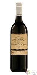 """Cabernet Sauvignon """" Grande cuvée """" 2018 Languedoc VdP Jean d´Aosque  0.75 l"""