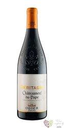 """Chateauneuf du Pape blanc """" Héritages """" Aoc 2011 Ogier Caves des Papes    0.75 l"""