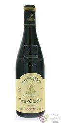 """Vacqueras rouge """" Vieux Clocher """" Aoc 2016 Arnoux & fils  0.75 l"""