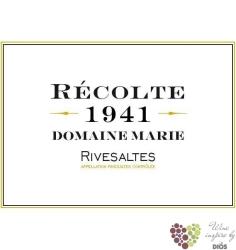 Vin doux naturel Rivesaltes Aoc 1941 domaine Marie    0.75 l