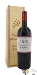 Vin doux naturel Rivesaltes Aoc 1951 domaine Tricoire     0.75 l