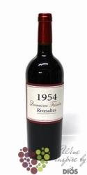 Vin doux naturel Rivesaltes Aoc 1954 domaine Tricoire     0.75 l