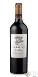 """Cabernet Sauvignon """" les Thermes """" 2014 Languedoc Roussillon Igp domaine la Baume  0.75 l"""