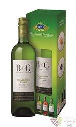 """Sauvignon blanc """" B&G Réserve """" 2015 gift box Languedoc Roussillon VdP Barton &Guestier 0.75"""